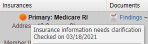 patient insurance eligibility